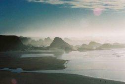 California, coast, fort bragg