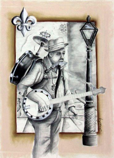 musician, mardi gras, nola, new orleans